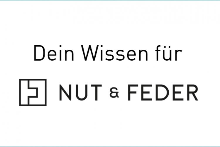 Wissensspende für NUT & FEDER